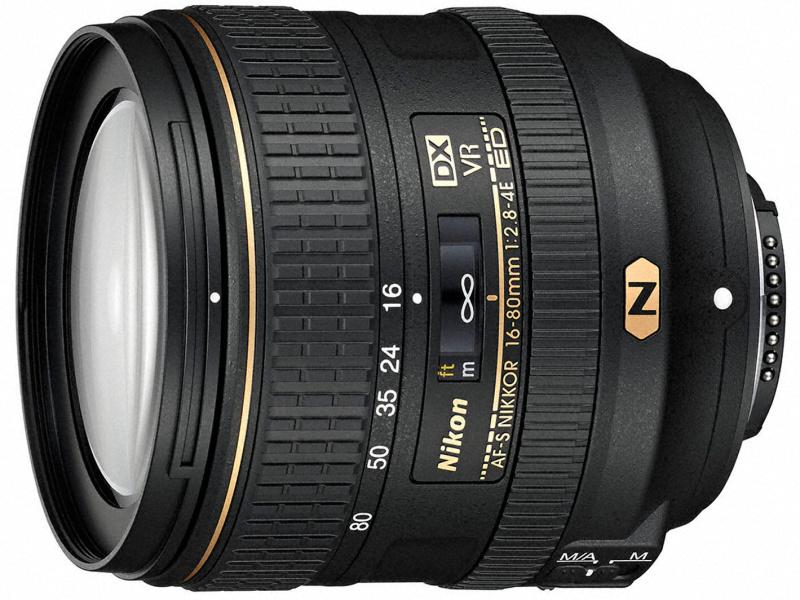 AF-S DX NIKKOR 16-80mm f/2.8-4E ED VR