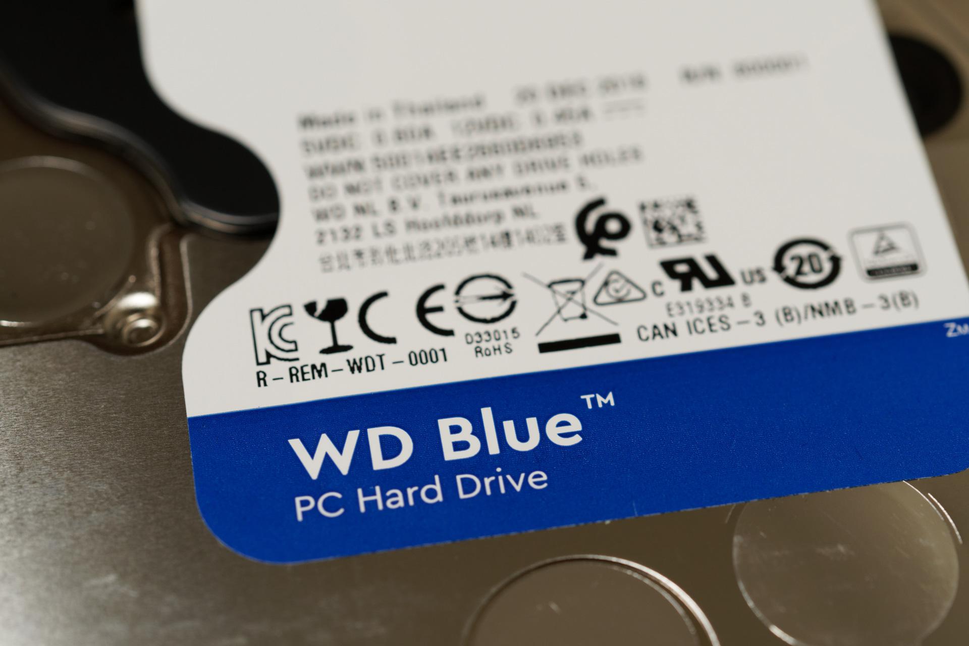 Western Digital WD60EZAZ-RT WD Blue 6TB - tratocao com br